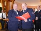 Ehrung für 50 Jahre Feuerwehr Dieter Grigo