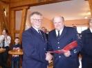 Ehrung für 50 Jahre Feuerwehr Karl-Heinz Stappert
