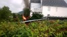 Brand einer Gartenhütte am 19.09.2015