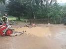 Hochwassereinätze am 08.06.2018
