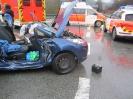 Schwerer Verkehrsunfall B7 am 02.02.2016